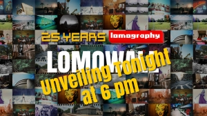 LomoWall Unveiling at 6 pm, Oct 26