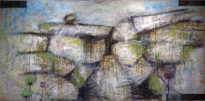 Encaustic Wall