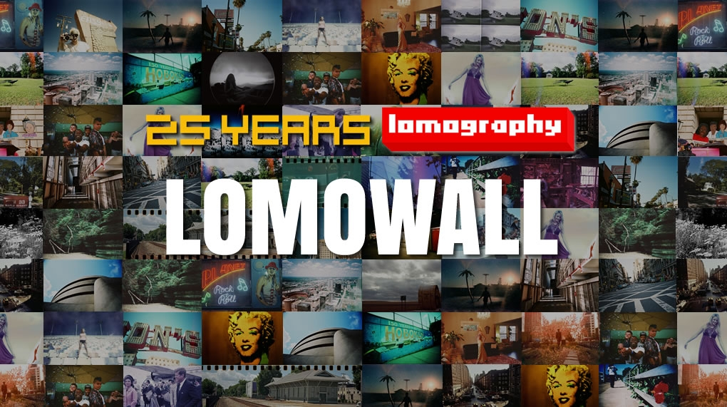 LOMOWALL: Celebrating 25 Years of Lomography
